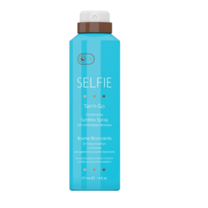 Selfie® Tan'n Go® Continuous Sunless Spray with Immediate Bronzers 6oz
